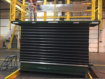 lift bellows for lifting platform