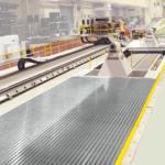 Steelflex walk-on pit cover